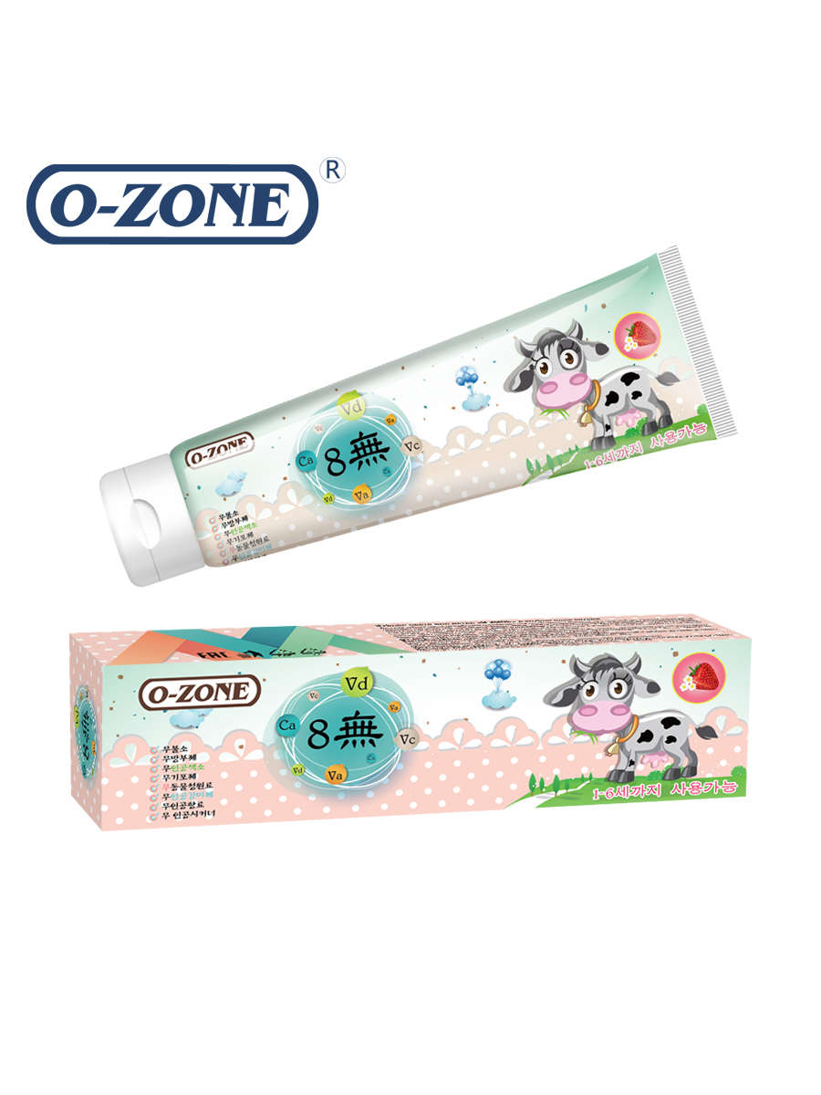 O-ZONE Kids toothpaste strawberry (1-6 year)