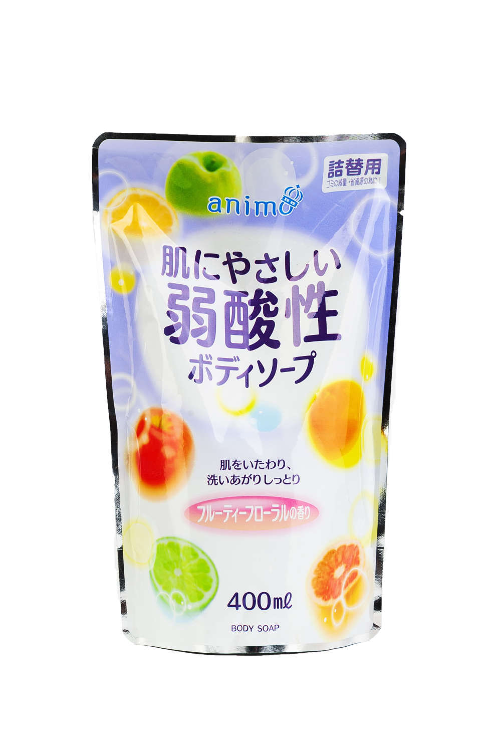 RS ANIMO body wash with light acids and fruit fragrance Refill