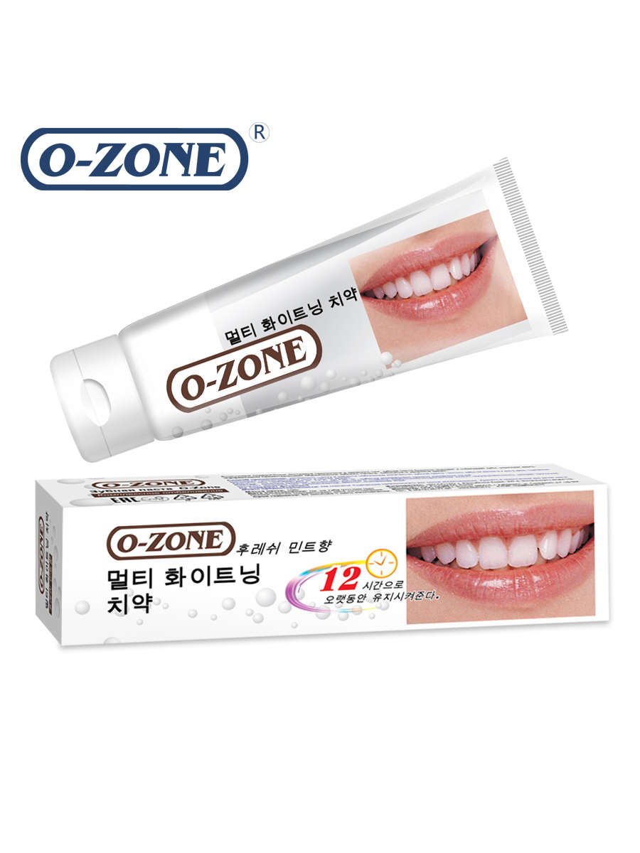 O-ZONE WHOLE EFFECT WHITENING toothpaste